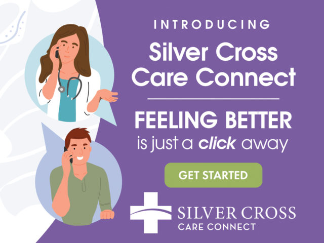 Silver Cross Telemedicine Ads